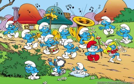 Smurf-Band